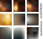set of 9 mesh blurred texture... | Shutterstock .eps vector #1120548395