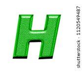 bright green chiseled metal... | Shutterstock . vector #1120549487