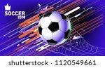 soccer vector illustration.... | Shutterstock .eps vector #1120549661