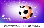 soccer vector illustration.... | Shutterstock .eps vector #1120549667