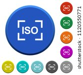 camera iso speed setting round... | Shutterstock .eps vector #1120550771