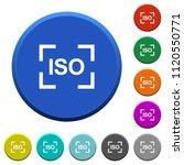 camera iso speed setting round... | Shutterstock .eps vector #1120550771