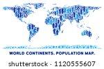 vector population world...   Shutterstock .eps vector #1120555607