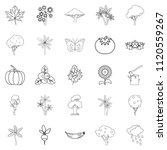 world of nature icons set....   Shutterstock . vector #1120559267