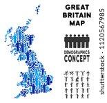 vector population great britain ... | Shutterstock .eps vector #1120567985