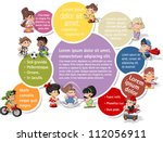 colorful template for...   Shutterstock .eps vector #112056911