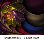 Abstract Fractal Background ...
