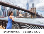 new york city nyc summer travel ...   Shutterstock . vector #1120574279