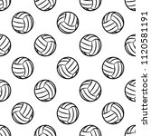volleyball ball graphic... | Shutterstock .eps vector #1120581191