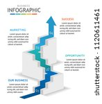 infographic template for... | Shutterstock .eps vector #1120611461