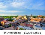 Panorama Of Suburban Area And...