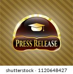 gold shiny badge with... | Shutterstock .eps vector #1120648427