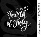 4th of july. happy independence ... | Shutterstock .eps vector #1120652321