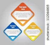 web element design | Shutterstock .eps vector #112066805
