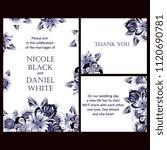 vintage delicate invitation... | Shutterstock . vector #1120690781