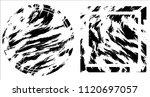 grunge texture set | Shutterstock .eps vector #1120697057