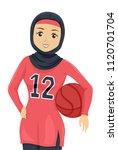 illustration of a teenage... | Shutterstock .eps vector #1120701704