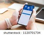 chiang mai  thailand jun 22... | Shutterstock . vector #1120701734