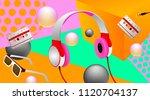music concept banner.... | Shutterstock .eps vector #1120704137