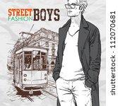 vector illustration of a...   Shutterstock .eps vector #112070681