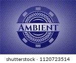 ambient with denim texture | Shutterstock .eps vector #1120723514