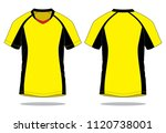 men's sports polo shirts design ... | Shutterstock .eps vector #1120738001