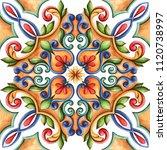 design for ceramic tiles ... | Shutterstock . vector #1120738997