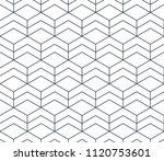 linear seamless pattern  thin... | Shutterstock .eps vector #1120753601