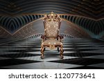 Abstract Design Of Empty Throne ...