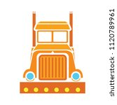 shipping truck illustration... | Shutterstock .eps vector #1120789961