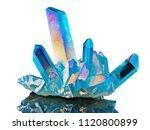 amazing colorful quartz rainbow ... | Shutterstock . vector #1120800899