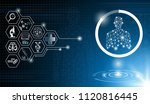 abstract background technology... | Shutterstock .eps vector #1120816445