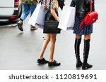 paris. france   september 28 ... | Shutterstock . vector #1120819691