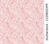 decorative floral seamless... | Shutterstock .eps vector #1120832399