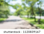 abstract blur city park bokeh... | Shutterstock . vector #1120839167