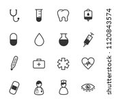 healthcare and medical icons... | Shutterstock .eps vector #1120843574