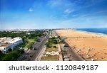 Marina Beach chennai city tamil nadu india bay of bengal