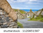 winding street with several...   Shutterstock . vector #1120851587