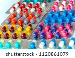 pharmaceuticals antibiotics... | Shutterstock . vector #1120861079