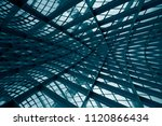 curvilinear grid structures.... | Shutterstock . vector #1120866434