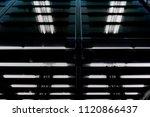 luminous structure. double...   Shutterstock . vector #1120866437