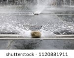 fountains in the park.   Shutterstock . vector #1120881911