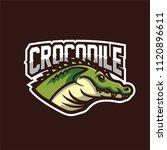 alligator crocodile esport... | Shutterstock .eps vector #1120896611