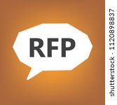 rfp  request for proposal ... | Shutterstock .eps vector #1120898837
