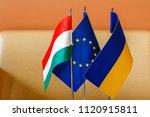 nyzhne solotvyno  ukraine  ... | Shutterstock . vector #1120915811