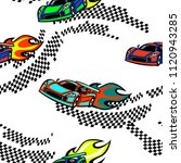 abstract seamless cars pattern. ...   Shutterstock .eps vector #1120943285