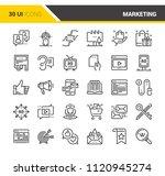 marketing and advertising | Shutterstock .eps vector #1120945274