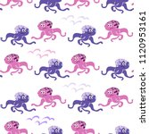 beautiful seamless pattern with ... | Shutterstock .eps vector #1120953161