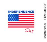 4th of july  american... | Shutterstock .eps vector #1121038919