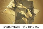 bright gold illustration with... | Shutterstock . vector #1121047457